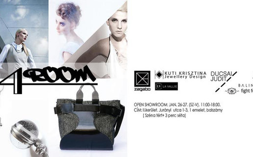Indul a 4.ROOM, a pop-up designerzsúr
