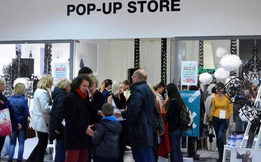 Decemberig vár a NON+ pop-up store